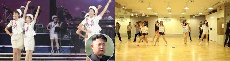 Bagai Langit Dan Bumi, Inilah 5 Perbedaan Girlband Korea Utara Dengan Korea Selatan, Bikin Syok Berat! Pembentkan