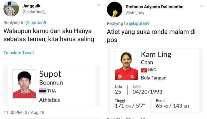 Begini Jadinya Jika 22 Nama Atlet Asian Games 2018 Dijadikan Meme, Bikin Ngakak! Awaw