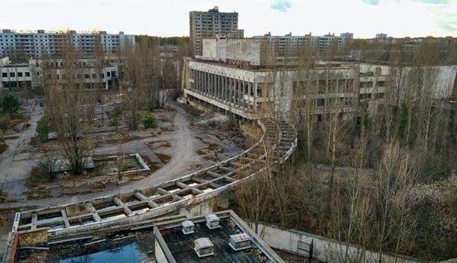 Berani Kesana Inilah 5 Kota Yang Dijuluki Sebagai Neraka Dunia! Chernobyl