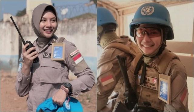 Briptu Imah Polwan Penjaga Perdamaian PBB