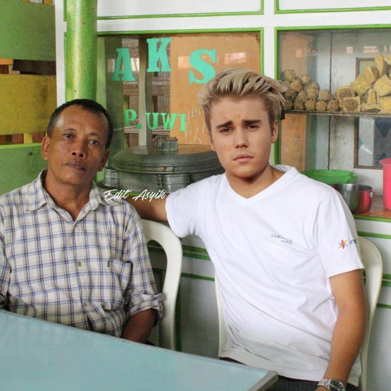 Bukan Main, Beginilah Jadinya Jika 10 Selebritis Dunia Tinggal Di Indonesia, Khas Banget! Justin Bieber