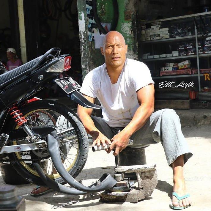 Bukan Main, Beginilah Jadinya Jika 10 Selebritis Dunia Tinggal Di Indonesia, Khas Banget! The Rock