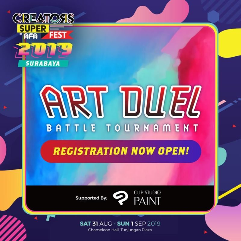 CSF19SBY Competition ART DUEL Battle Tournaments
