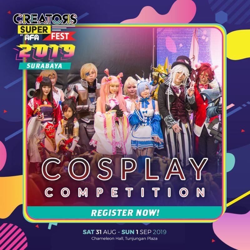 CSF19SBY Competition COSPLAY COMPETITION