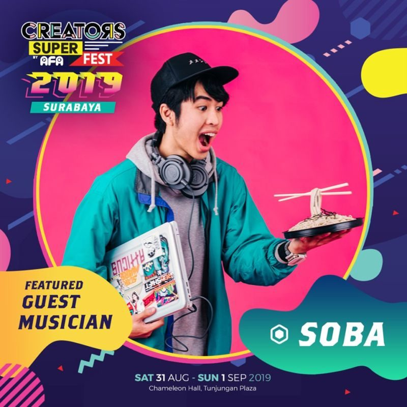 CSF19SBY Guest Musician SOBA (Indonesia)