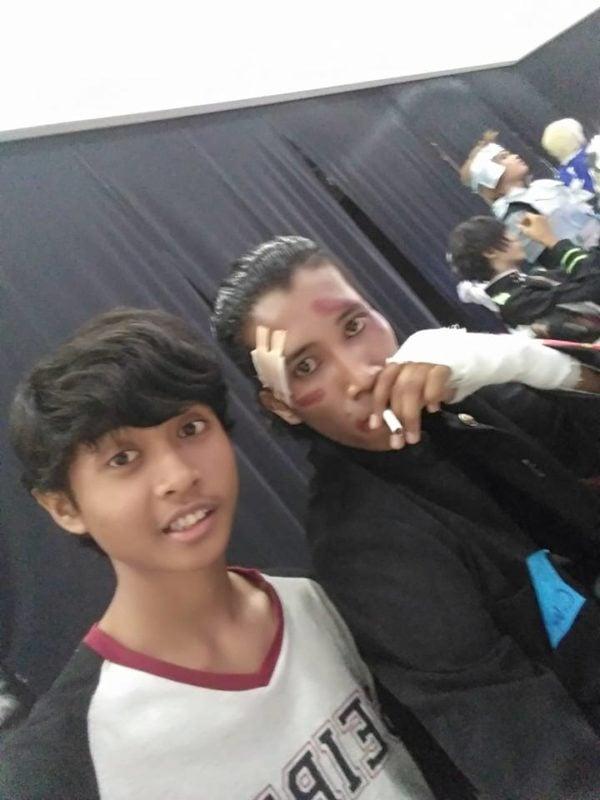 Cosplayer Takiya Genji Indonesia (Edi Santoso) Dafunda Otaku