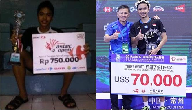 Dari 750 Ribu Hingga 1 Miliar, Inilah 10 Potret Perjuangan Anthony Ginting Membawa Nama Indonesia Di Kancah Dunia! 10