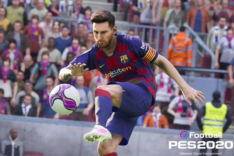 Game Sepak Bola Android Terbaik EFootbal PES 2020