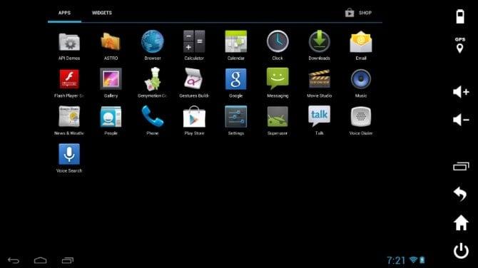 Genymotion Emulator Android Min