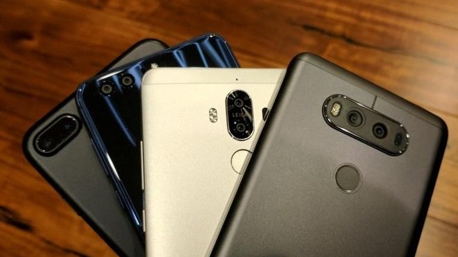 HP Smartphone Dengan Kamera Terbanyak 2018