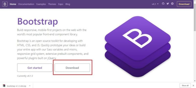 Homepage Bootstrap Min