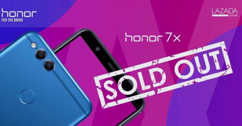Honor 7x Penjualan Smartphone Tercepat