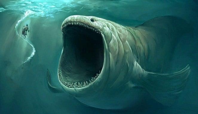 Inilah 4 Misteri Tentang Ikan Raksasa Nabi Yunus Yang Katanya Masih Hidup Sampai Sekarang! Dafunda Gokil
