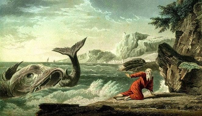 Inilah 4 Misteri Tentang Ikan Raksasa Nabi Yunus Yang Katanya Masih Hidup Sampai Sekarang! Dafunda