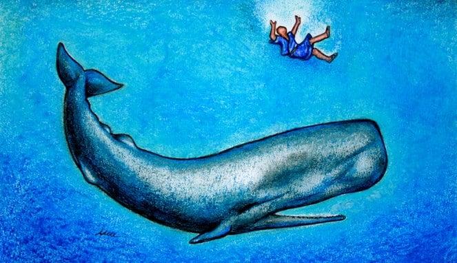 Inilah 4 Misteri Tentang Ikan Raksasa Nabi Yunus Yang Katanya Masih Hidup Sampai Sekarang! Ikan Nun