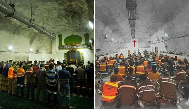 Inilah Fakta Tempat Ibadah Karyawan Freeport Yang Ribuan Meter Dalam Perut Bumi! Dafunda Gokil