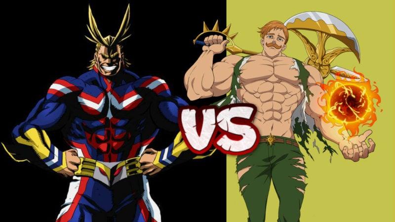 Karakter Berotot Paling Kuat Di Anime #DafundaOtaku
