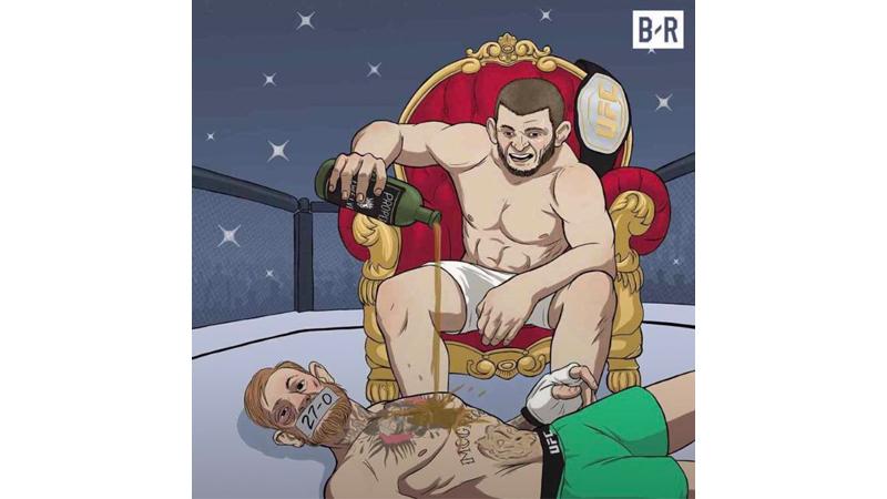 Karma Is Real, 10 Meme Lucu Kekalahan Memalukan McGregor Vs Khabib Nurmagomedov Ini Bikin Ngakak! 7