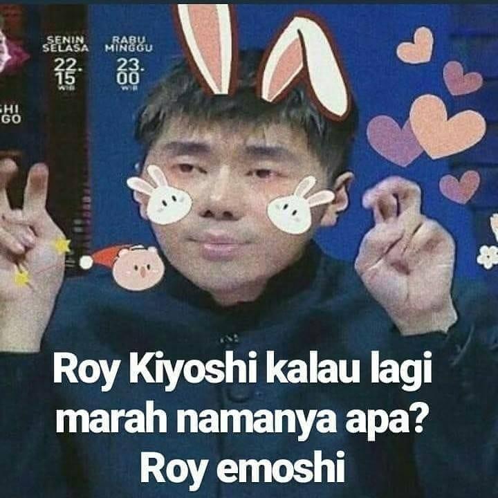 Lucu Banget, 7 Plesetan Nama Roy Kiyoshi Ini Bakal Bikin Puasa Kalian Tak Terasa! Roy Emoshi