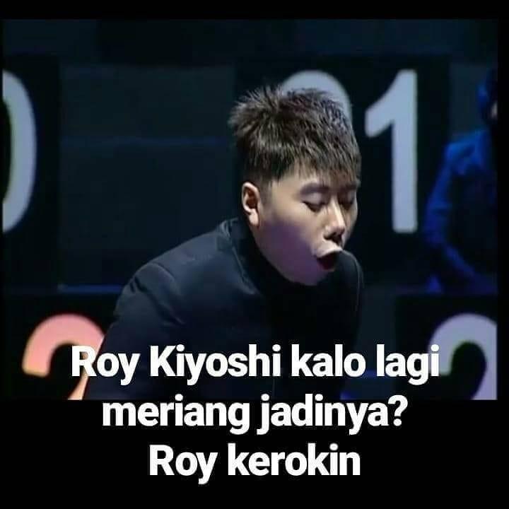 Lucu Banget, 7 Plesetan Nama Roy Kiyoshi Ini Bakal Bikin Puasa Kalian Tak Terasa! Roy Kerokin