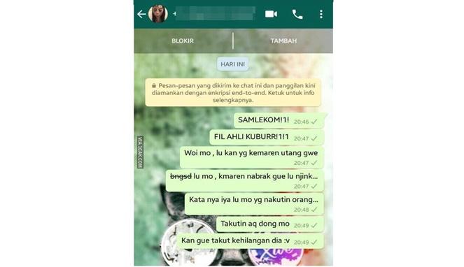 Malah Dibully, 8 Chat Netizen Dengan Momo Challenge Ini Malah Bikin Ngakak! Anak Greget