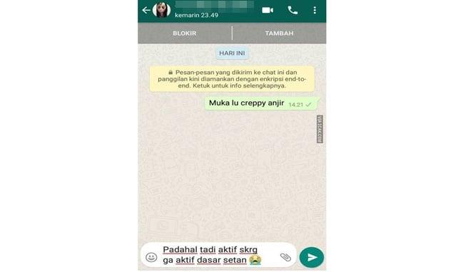Malah Dibully, 8 Chat Netizen Dengan Momo Challenge Ini Malah Bikin Ngakak! Ngenes Banget