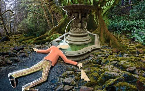 Mengejutkan! Ternyata Benar Adanya Air Mancur Awet Muda Fountain Of Youth! John