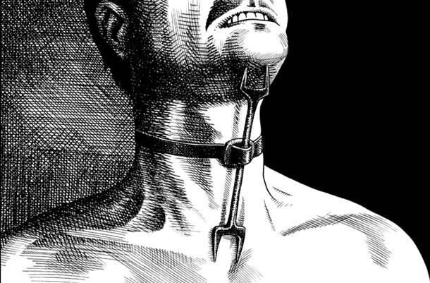 Mengerikan! 25 Alat Penyiksaan Manusia Paling Sadis Sepanjang Sejarah! Garpu Bid'dah