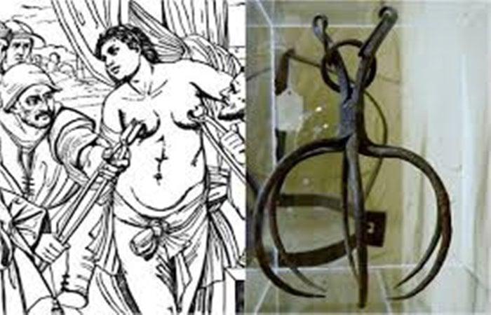 Mengerikan! Inilah 6 Alat Penyiksaan Wanita Paling Sadis Sepanjang Sejarah! Spanish Spider