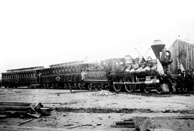 Mengerikan, Inilah 7 Kendaraan Berhantu Dan Paling Terkutuk Di Dunia! Abraham Lincoln's Phantom Train