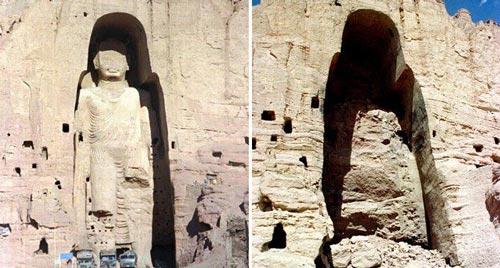 Mengerikan! Inilah Kisah Tragis Dibalik Keindahan 10 Tempat Ibadah Terkenal Di Dunia, Penasaran Patung Budha BamIyan