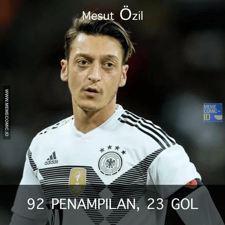 Mesut Özil, Pemain Yang Mendapat Perlakuan Rasis Karena Memiliki Darah Keturunan Turki! 1