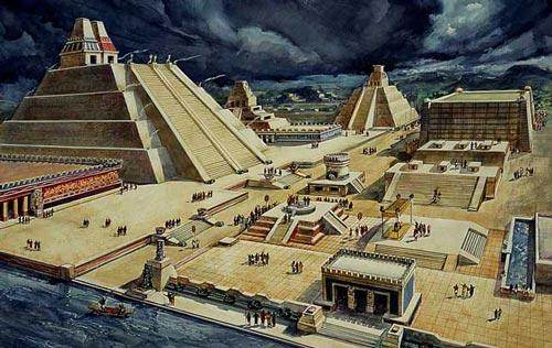 Miris! Inilah 10 Kisah Tragis Dibalik Keindahan Tempat Ibadah Terkenal Di Dunia, Penasaran Templo Mayor