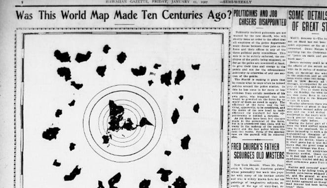 Misteri Tembok Es Antartika Yang Disembunyikan Pemerintah Amerika Dari Mata Dunia, Ada Apa Peta Bumi Datar Kuno Yang Misterius