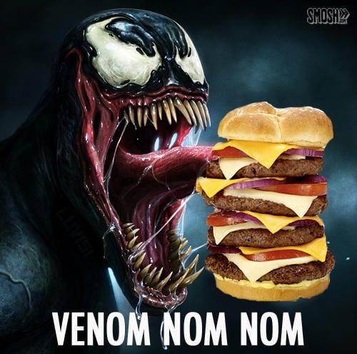 Ngakak, 10 Meme Lucu Venom Ini Bikin Kalian Pengen Nonton Film Nya! No Nom