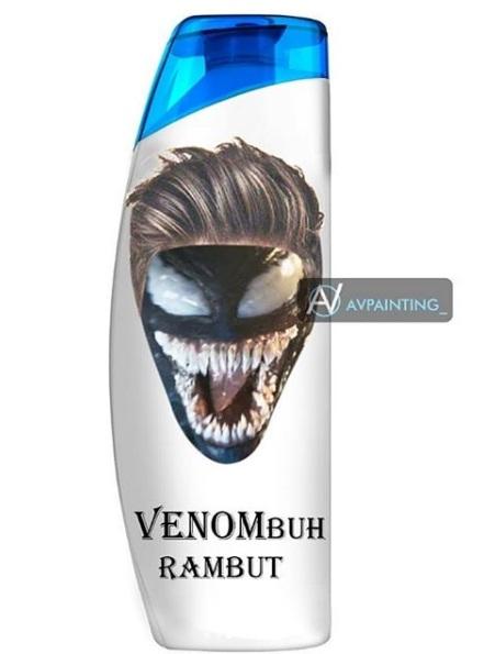 Ngakak, 10 Meme Lucu Venom Ini Bikin Kalian Pengen Nonton Film Nya! Sampo