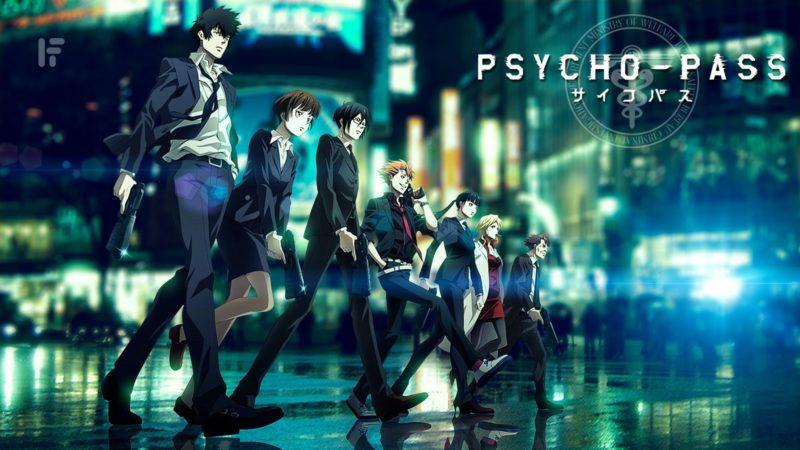 Psycho Pass Season 3 - Anime Action 2019
