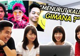 Reaksi Cewek Jepang Lihat Youtuber Indonesia Dafunda Otaku