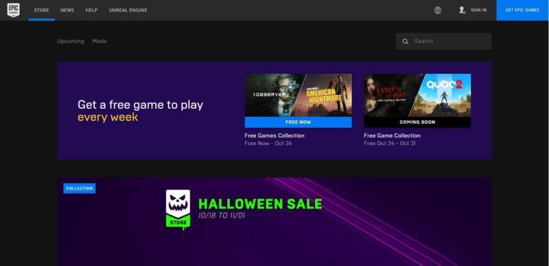 Rekomendasi Situs Download Game PC Terbaik Epic Game Store