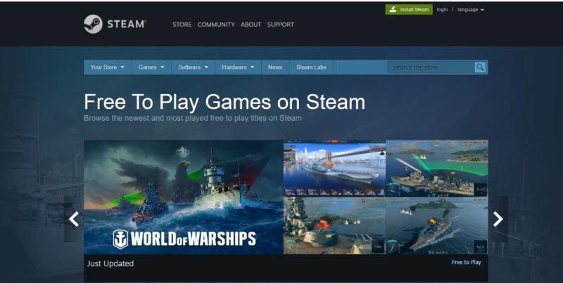 Rekomendasi Situs Download Game PC Terbaik Steam