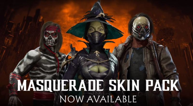 Skin Pack Masquerade Mortal Kombat 11