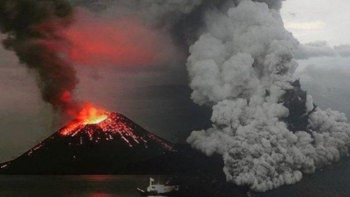 Terus Tumbuh, Inilah 5 Fakta Anak Krakatau Yang Mungkin Belum Kalian Ketahui! Dafunda Gokil