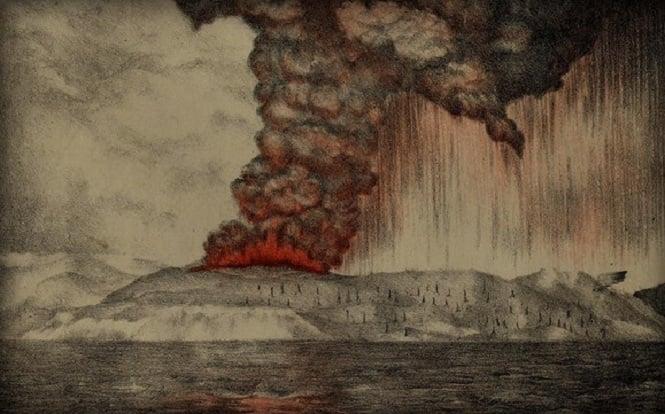 Terus Tumbuh, Inilah 5 Fakta Anak Krakatau Yang Mungkin Belum Kalian Ketahui! Erupsi