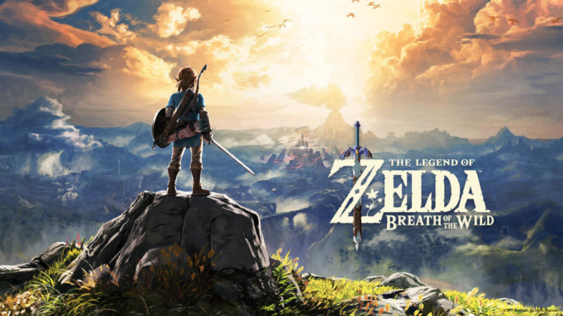 The Legend Of Zelda Breath Of The Wild Main Visual