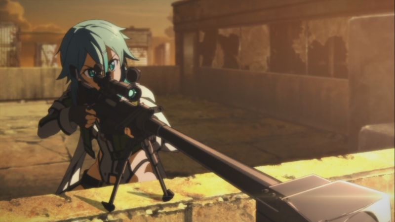 Waifu Penembak Jitu Di Anime Dafunda Otaku