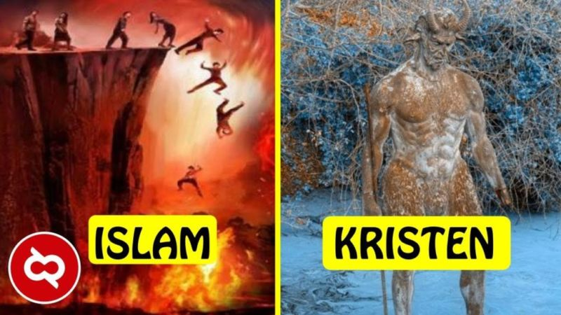 Wajib Tahu! Inilah Perbedaan Neraka Menurut 10 Kepercayaan Di Dunia! Dafunda Gokil