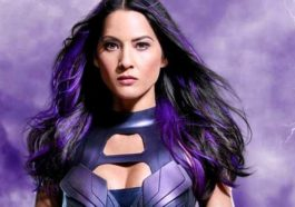 X Men Apocalypse Olivia Munn Psylocke Bruises Photo