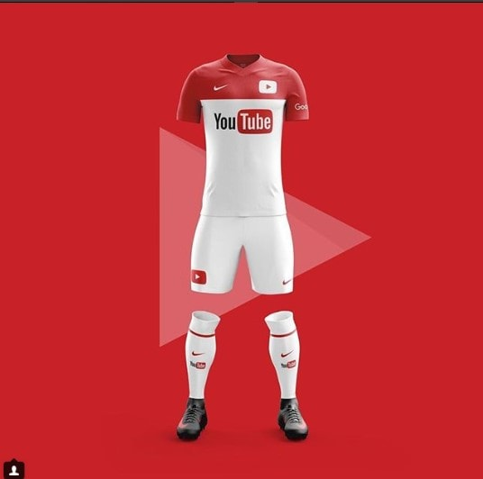 Jersey Aplikasi Mobile Youtube