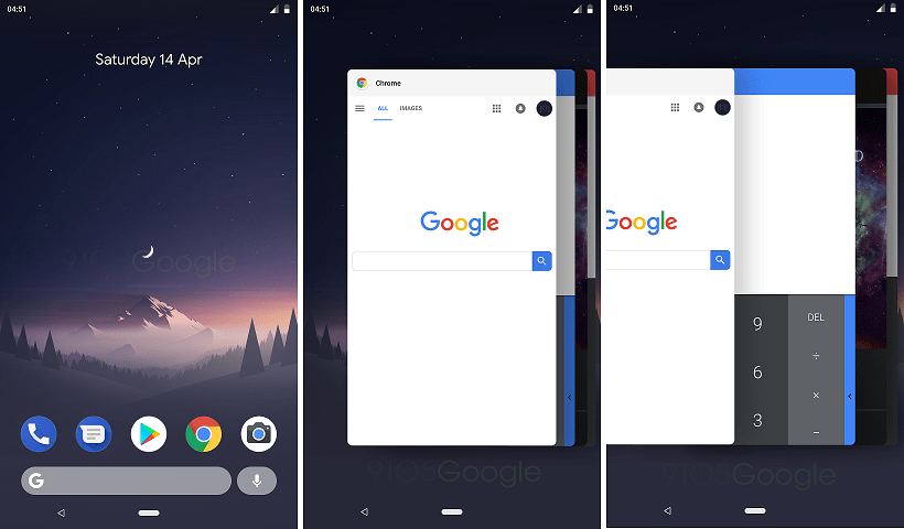 Android P Navigation Ui
