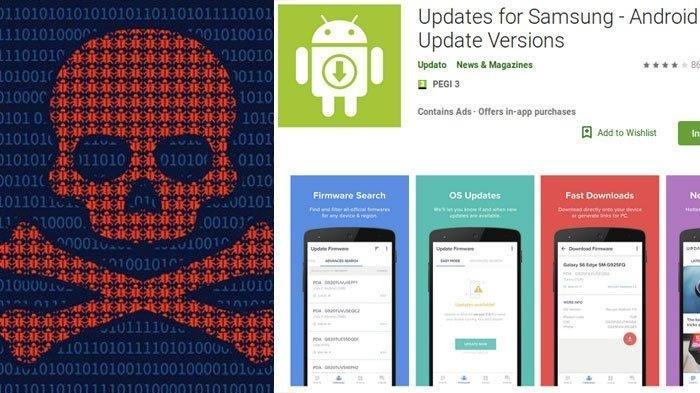 Aplikasi Palsu Samsung